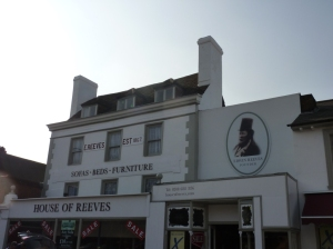 The House of Reeves store at 120 Church Street