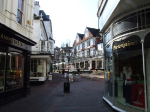 The Pantiles, Tunbridge Wells [Photo: Chris Whippet, Creative Commons license]