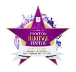 Croydon Heritage Festival logo, 20-28 June 2015