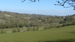 View Down the Chipstead Valley [Wikimedia, Creative Commons: Peter Trimming]