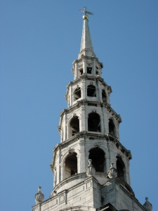 St Bride Fleet Street, steeple