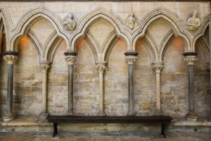Double arcading, Lincoln Cathedral [Photo: Mark Tyson]